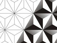 Blend logo design pattern