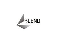 Blend logo design