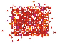 Socialblood graphics for identity / t-shirt design