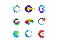 36 Days of Logos / Logo alphabet: letter C