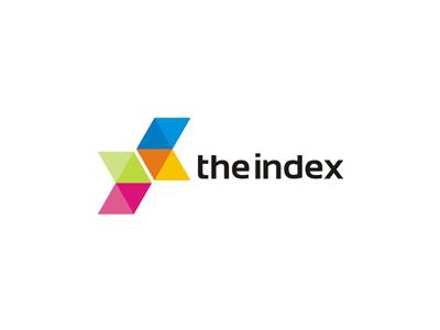 The Index web / mobile / apps developer logo design letter mark monogram x logo design logo design logo designer logotype type typography word mark index coding web programming web mobile ui ux dev developer coding brackets