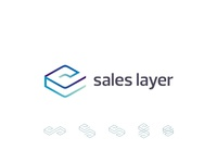 Sales Layer, sales and marketing application, logo design