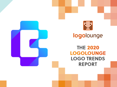 CoinBase logo featured in LogoLounge 2020 Logo Trends Report negative space finance financial tech technology fintech brand identity branding letter mark monogram cb b bc c crypto cryptocurrency trend featured trends award logo designer tron report bill gardner logolounge 2020 logo design