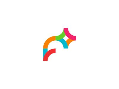 F + photo studio logo design letter mark monogram plus f photo studio logo design logo design logo designer flash colorful fashion photography monogram app icon symbol photography photographer