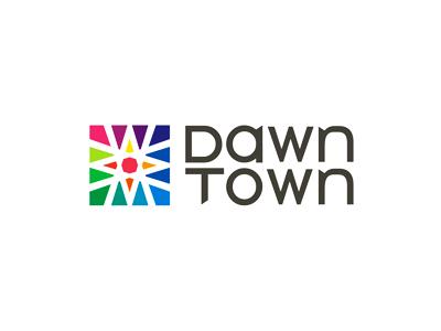 DawnTown modern architecture logo design architecture project architecture downtown town architecture office architecture studio architecture company architecture firm design logo designer logo design logo