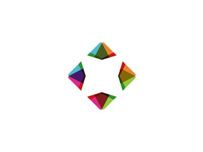 Diamond logo design symbol by alex tass