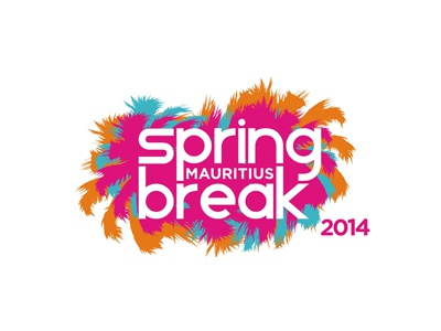 Spring Break Mauritius 2014 logo redesign logo logo design design logo designer colorful spring break mauritius poster design flyer design flyer poster party