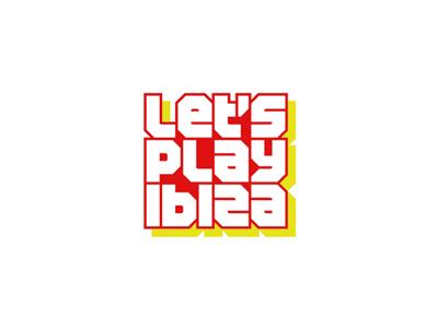 Lets play ibiza edm news portal logo design by alex tass
