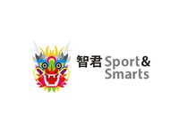 智君 Sport & Smarts children logo design
