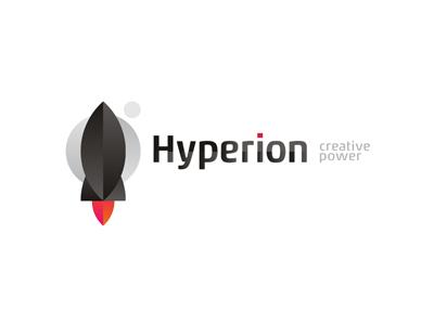 Hyperion design agency logo design by alex tass