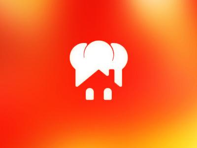 Home Chef logo design home chef house cooking dinner restaurant meal food logo logo design design negative space