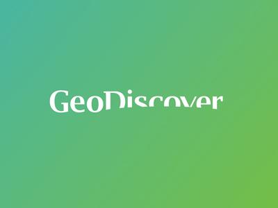 Geodiscover logo design by alex tass