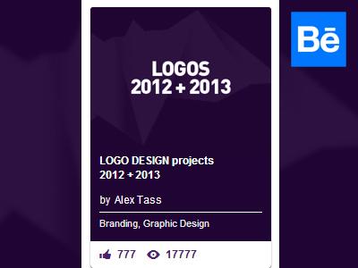 Behance 2013   2014 logo design projects by alex tass