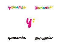 Yumamia logo design by alex tass