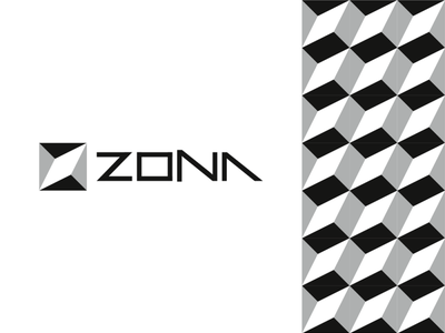 Zona, modular logo for architecture / interior design studio symbol icon modern company z building construction a l e x t a s s l o g o d s g n b c f h i j k m p q r u v w y z architecture firm logomark letter mark monogram build logo designer corporate pattern modules bricks blocks modular studio interior design logo design logo