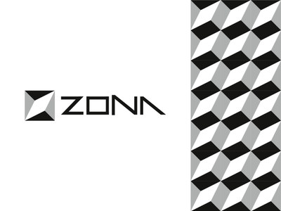 Zona, modular logo for architecture / interior design studio logomark letter mark monogram z modern building build construction logo designer corporate pattern modules bricks blocks modular company firm studio interior design logo design logo architecture