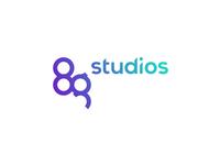 8g Studios logo design