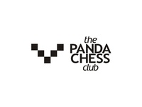 the Panda Chess Club logo design