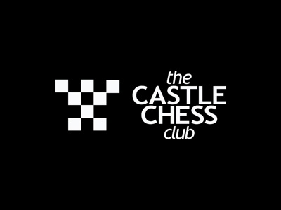 Castle chess logo design by alex tass