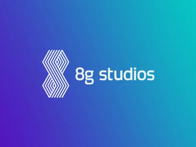 8g studios gaming studio logo design by alex tass