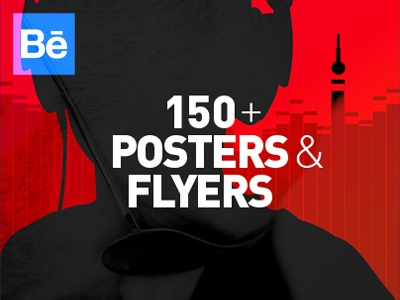 150 + posters and flyers designed for clubbing events @ Behance