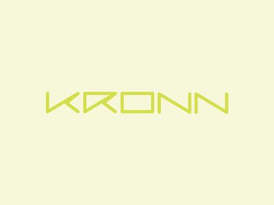 Kronn tennis, naming & logo design