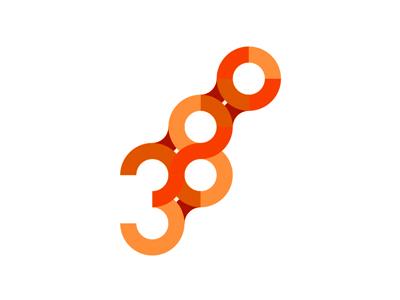 38 degrees logo design