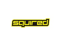 Squired dj logo design