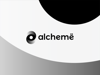 Alchemë, logo design for beauty professionals network designers artists specialists platform networking network social negative space alchemy aesthetics professionals beauty logomark logo design logo monogram letter mark e a eye