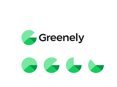 Greenely, green energy logo: letter G, house roof, graphic chart a l e x t a s s l o g o d s g n b c f h i j k m p q r u v w y z graphic chart letter mark monogram home smart modern dynamic g logomark logo design logo automation consumption clever negative space roof house energy green