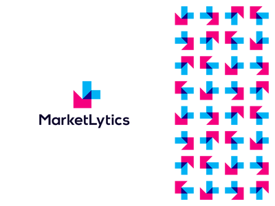 MarketLytics, logo design for business data insights analytics digital businesses customer analysis user data management lm ml branding growth corporate pattern martech logo design logo insights business graphic chart monogram letter mark l m analytics marketing market