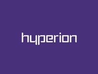Hyperion advertising agency logo design