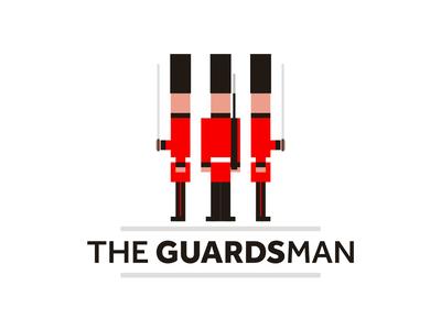 The GuardsMan logo design