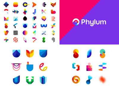2020 top 4 finance financial fintech colorful creative tech technology ai artificial intelligence crypto cryptocurrency popular dribbble shots logomark monogram letter mark a b c d e f g h i j k l m n o p q r s t u v w q y z alphabet logo designer 2021 2020 top 4 logo logo design vector icon mark symbol portfolio
