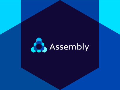 Assembly, open source technology framework protocol logo design a l e x t a s s l o g o d s g n b c f h i j k m p q r u v w y z iot internet of things letter mark monogram assembly tech standard logo logo design logomark open source framework cryptocurrency smart contracts distributed network technology protocol enterprise adoption startup ecosystem platform cooperatives democratic community governance a