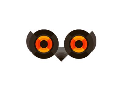 Owl logo design symbol by alex tass
