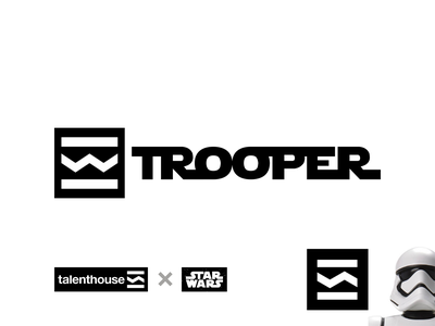 Trooper: May the 4th be with you! Talenthouse x StarWars sw icon logo design logo may the force be with you may the 4th be with you may the fourth may the 4th stormtrooper storm trooper trooper starwars star wars talenthouseartist talenthouse logomark