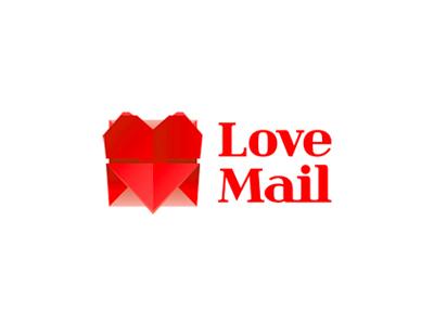 Love Mail logo design