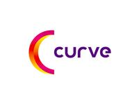 Curve animation studio logo design