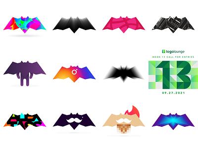 LogoLounge 13 special: my personal branding, The Bat icon symbol mark personal personal branding 13 logolounge logo design logo dynamic batman bat