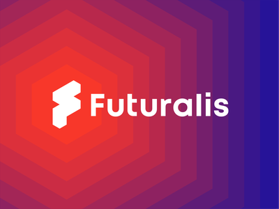 Futuralis, AWS cloud services & modern apps, logo redesign performance efficiency cost optimization branding rebranding business intelligent apps logo amazon web services tech identity design data analytics security letter mark monogram f consulting firm technology modern applications cloud services redesign logo design aws