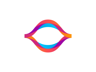 Flow ai logo design: mouth, eye, flowing brain waves saas daas data science neural network machine learning communication productivity woman deep learning feminine logo design logo waves brain thinking eye mouth artificial intelligence ai flowing flow