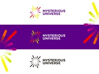 Mysterious universe logo redesign proposal by alex tass