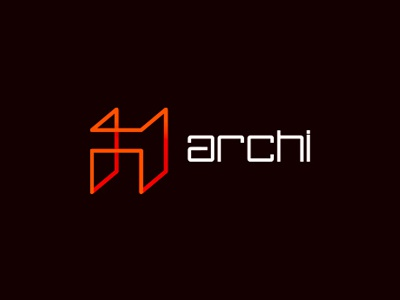 Archi Architecture Logo Design By Alex Tass