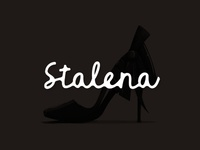 Stalena, fashion / shoes creator logo design