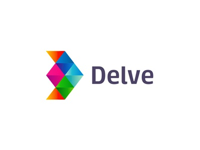 Delve, indie games developer, logo design arrow letter mark monogram d games gaming play developer development logo logo design geometric mobile games apps applications plane airplane