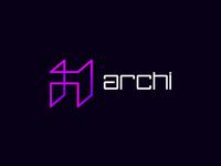 Archi architecture logo design