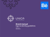 Unica brand manual @ Behance