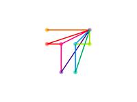 T is for Travel (logo design symbol)
