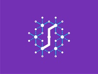 Synapses logo design symbol